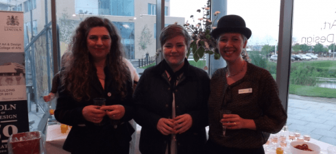 Blog post from level 2 AP student Alexandra O'Brien – pictured centre with lecturers Maria Manning and Dagmara Childs. We were asked...
