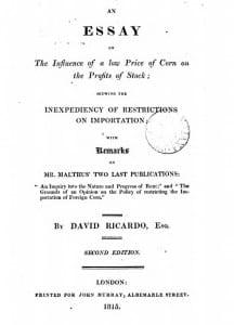 Ricardo title-page