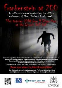 Digital Poster Frankenstein at 200