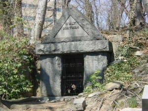 Whitman's tomb