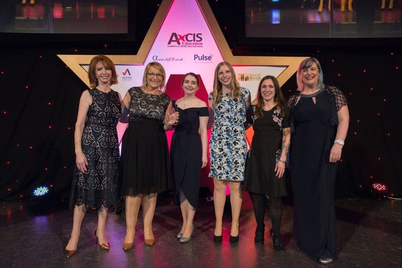 Student Wellbeing Team Wins National Autism Award