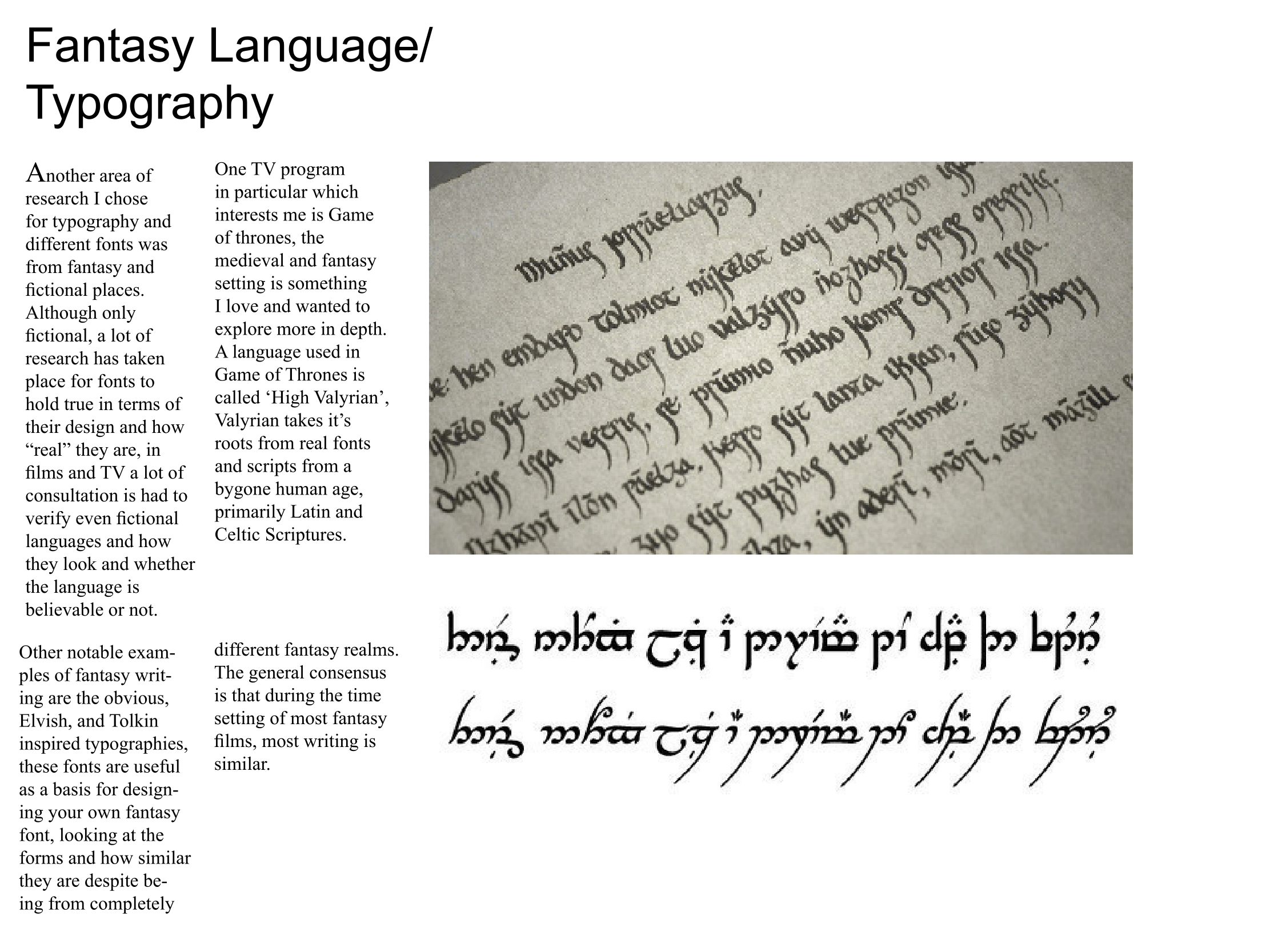 Typography – Page 3 – Level 2 Design