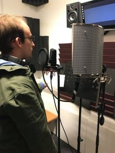 ADR with the narrator