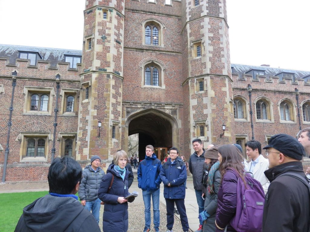 Tour of Cambridge during the STEP2DYNA Workshop 6