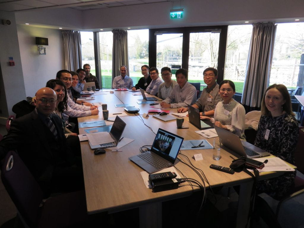 Attendees at the STEP2DYNA Workshop 6 held in Cambridge UK