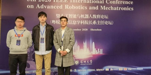 ULTRACEPT Researchers Attend IEEE ICARM 2020 Conference