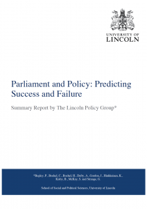 Parliament and Policy