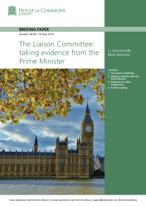 Liaison Committee Library Briefing cover