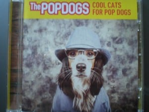 This is the album artwork for The Popdog's new album - Cool Cats For Pop Dogs.