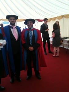 Amjad Graduation Ceremony - September 2013