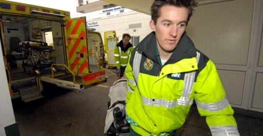 Quality Improvement Collaborative leads to significant improvements in heart attack and stroke care by ambulance services in England