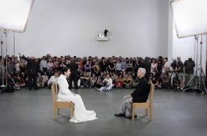 """The Artist is Present"" Marina Abramovic MoMA - New York"