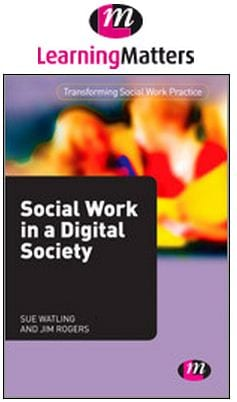 Social work in a Digital Society book cover