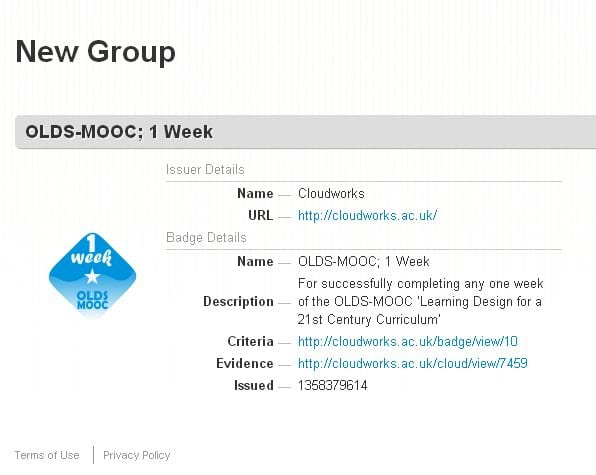oldsmooc badge week 1