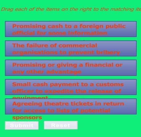 bribery exp 4