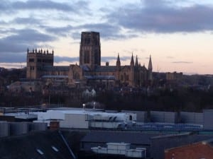 Durham Cathedral from Durham University