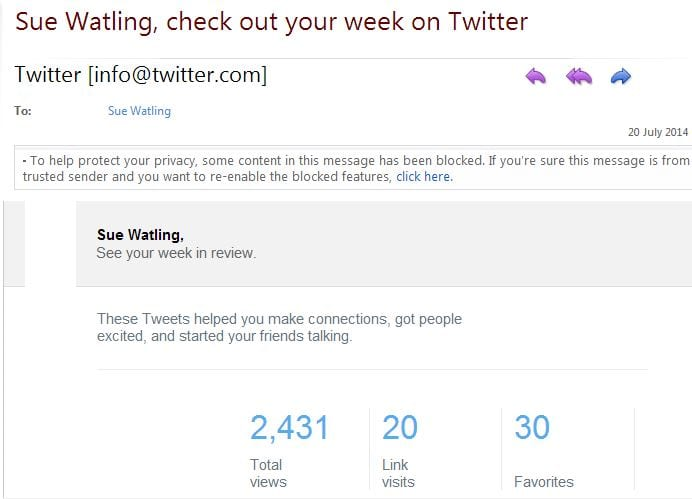 BBWorld14 Twitter Stats