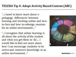 activity based content