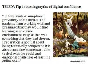 TELEDA tip 1 busting myths of digital confidence