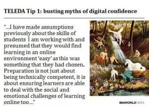 TELEDA tip 1 busting myths of digital confidence