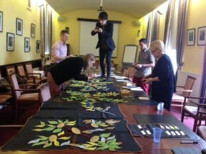 Dancing on the table; capturing the EDEU AwayDay Matso tree