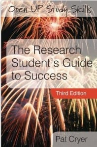 Pat Cryer book The Research Student's Guide to Success