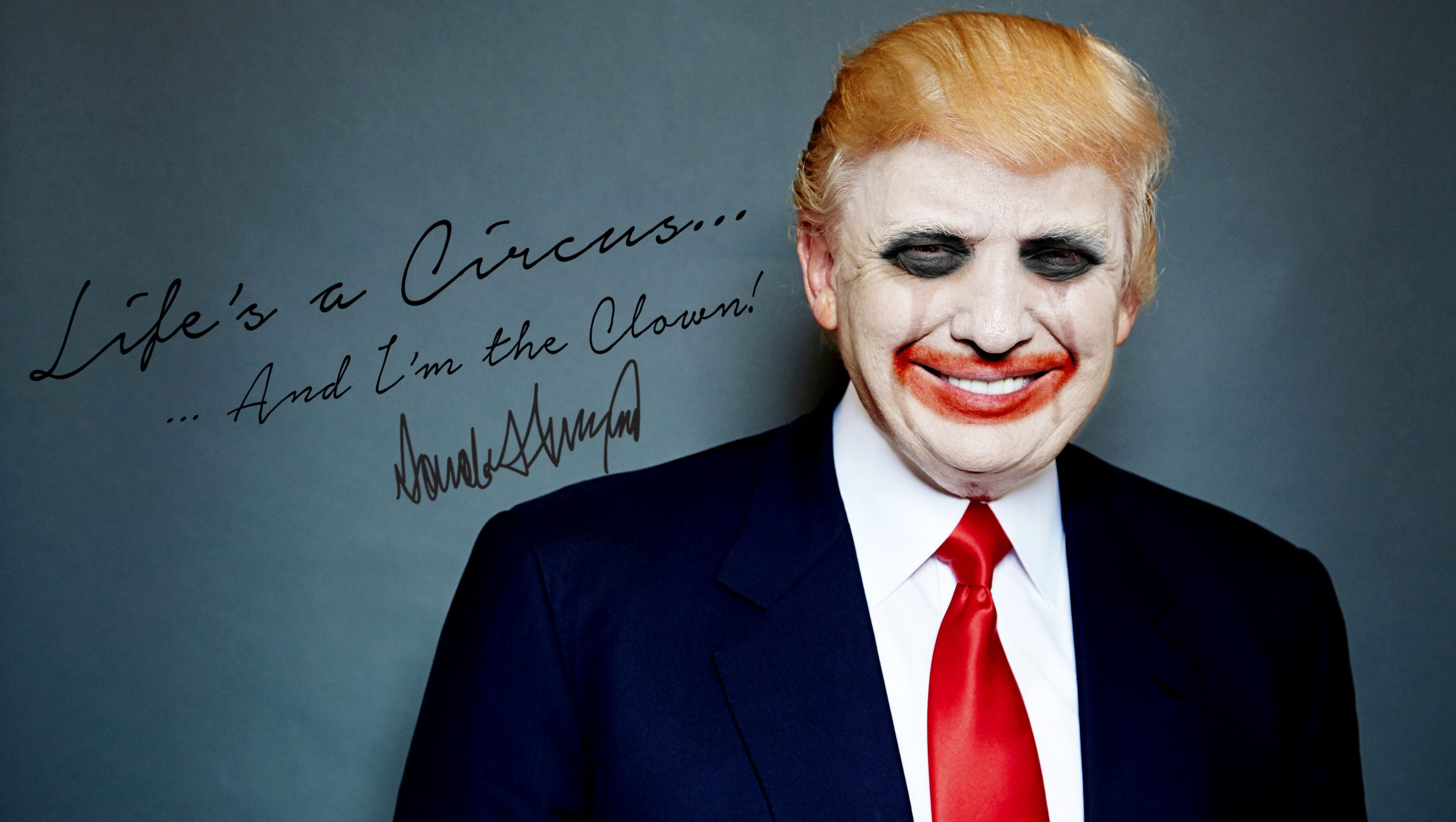 becoming an actor a clown the president But, this being hollywood, the actor behind all that scary clown makeup is actually really gorgeous and far more famous than you might have originally thought.