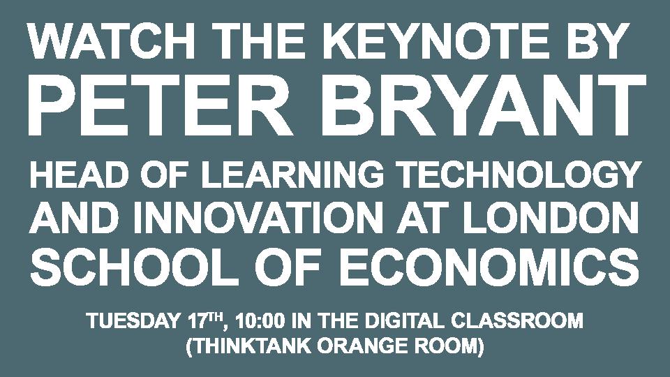 Peter Bryant Keynote