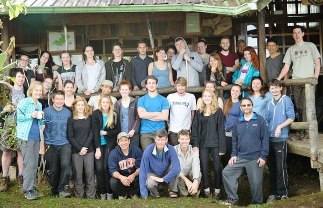Students and Staff at the Santa Lucia Lodge Group B 2015