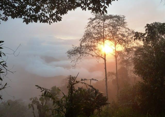 Wow... amazing sunset at Santa Lucia