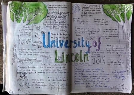 Visitor book 2013