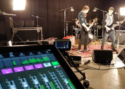 Recording at PRC