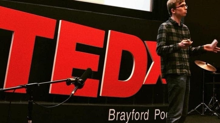Preview image for the article From script to stage: Speaking at TEDxYouth@BrayfordPool.