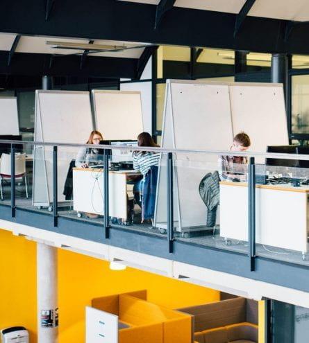 minerva floor 3, whiteboards, computers etc.