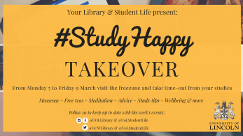 study happy takeover poster