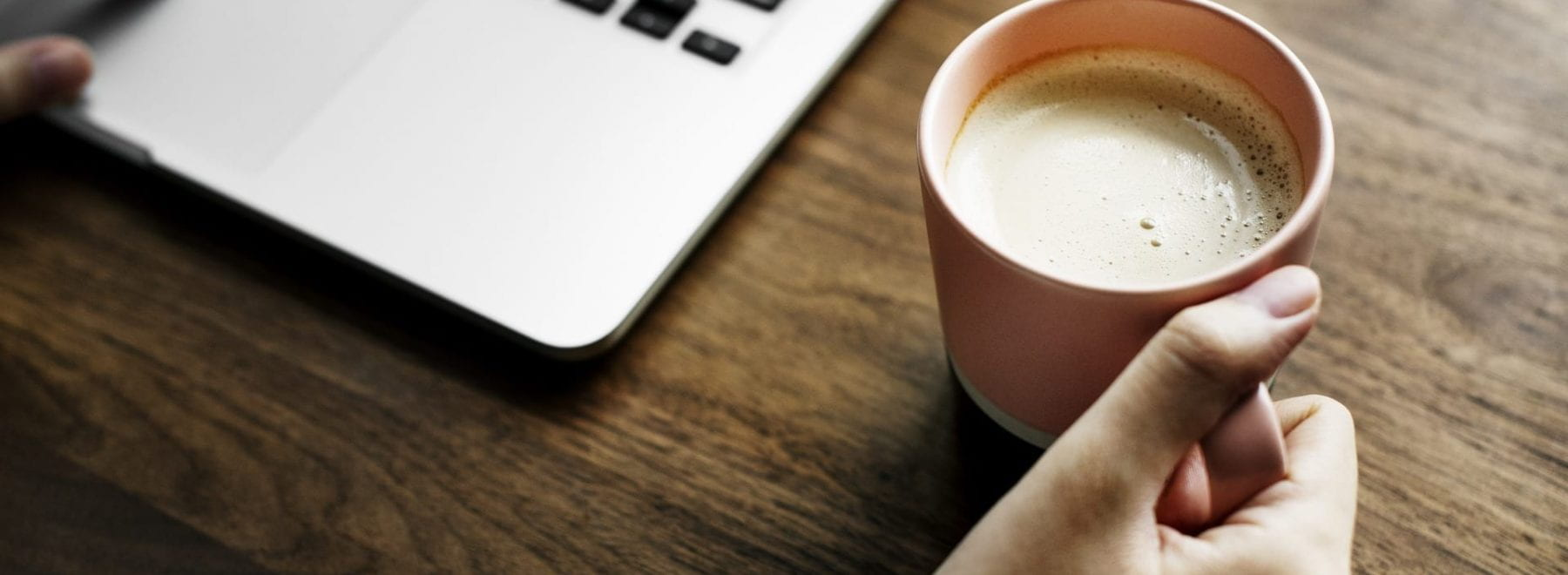 coffee and laptops