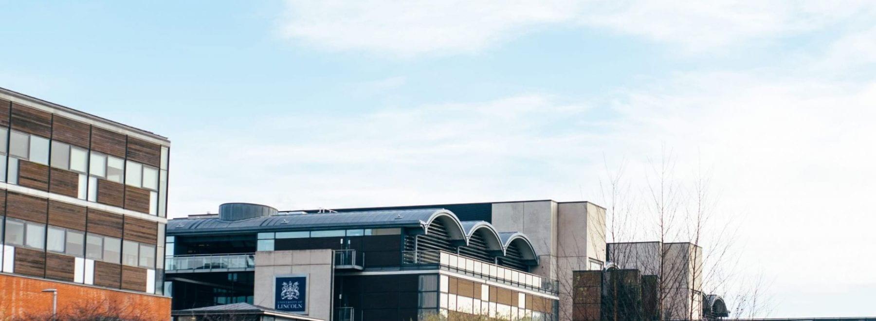view of university