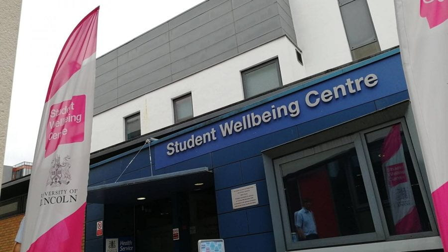 The Student Wellbeing Centre entrance
