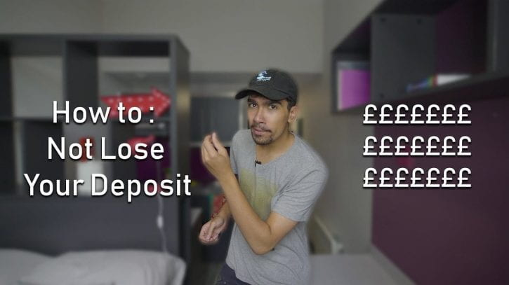 How to not lose your deposit