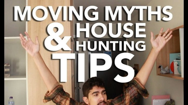 Preview image for the article Moving myths and house hunting tips.