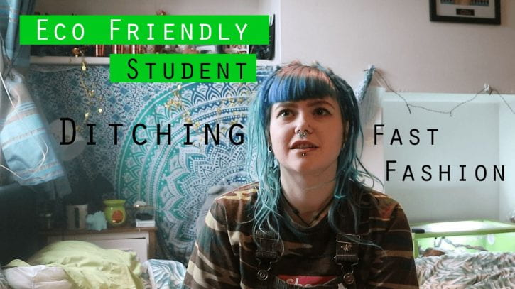 Preview image for the article Ditching fast fashion at university.