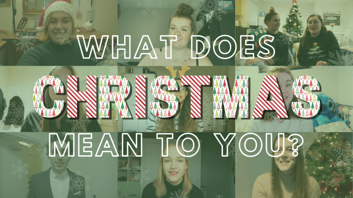 Preview image for the article What does Christmas mean to you?.