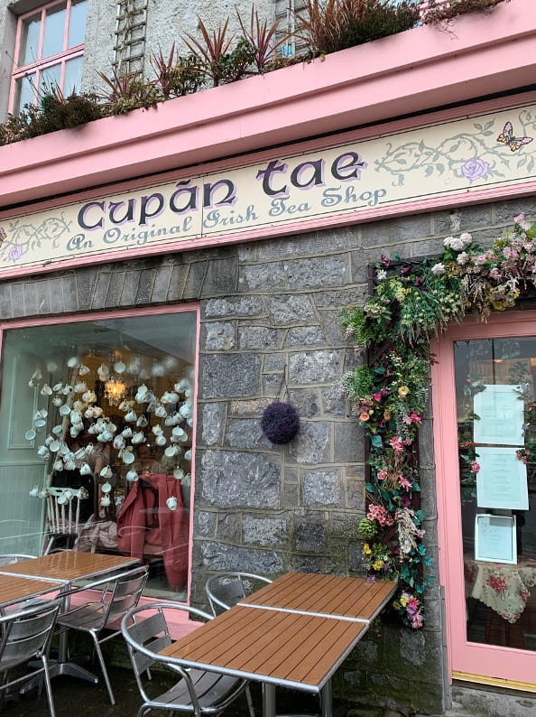 Irish Tea Shop in Galway