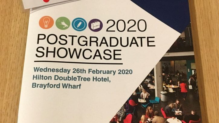 Preview image for the article Postgraduate Research Student Showcase Conference 2020.