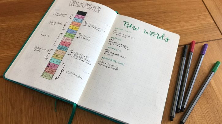 Preview image for the article The little joys of bullet journaling.