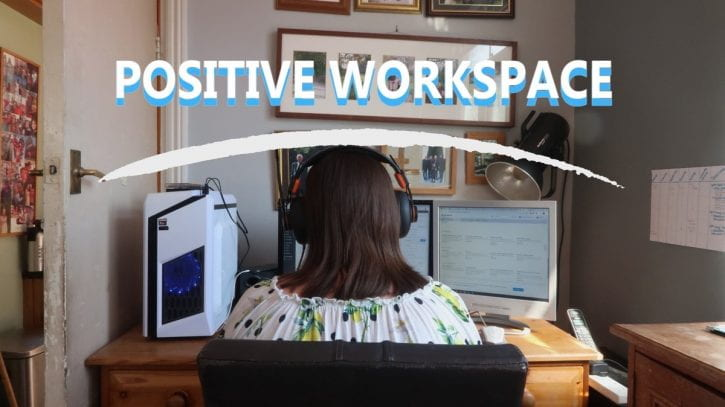 Preview image for the article Positive study spaces.