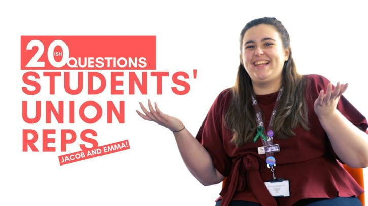 Preview image for the article 20(ish) Questions | Students' Union Reps.