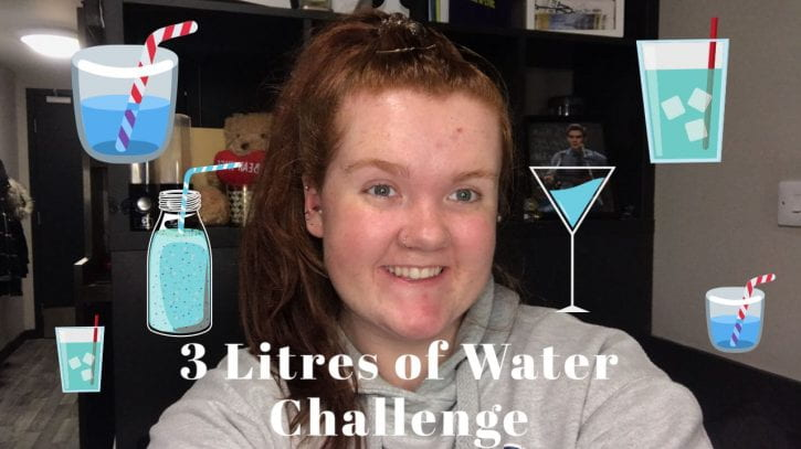 Preview image for the article Challenge: 3 litres of water in 12 hours!.