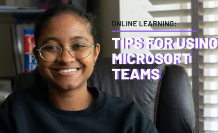 Video thumbnail reading 'tips for using Microsoft Teams'