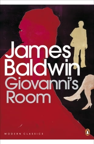 Front cover of the book ' Giovanni's Room' by James Baldwin